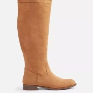 JustFab Camel over the knee boots